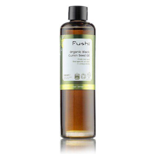 Black Cumin Seed Oil Organic, Virgin Cold Pressed Unrefined 100ml Fushi Wellbeing