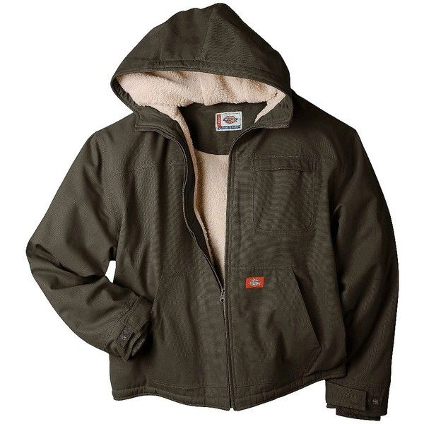 dickies men s sherpa lined hooded jacket assorted colors on men s insulated coveralls with hood id=84679