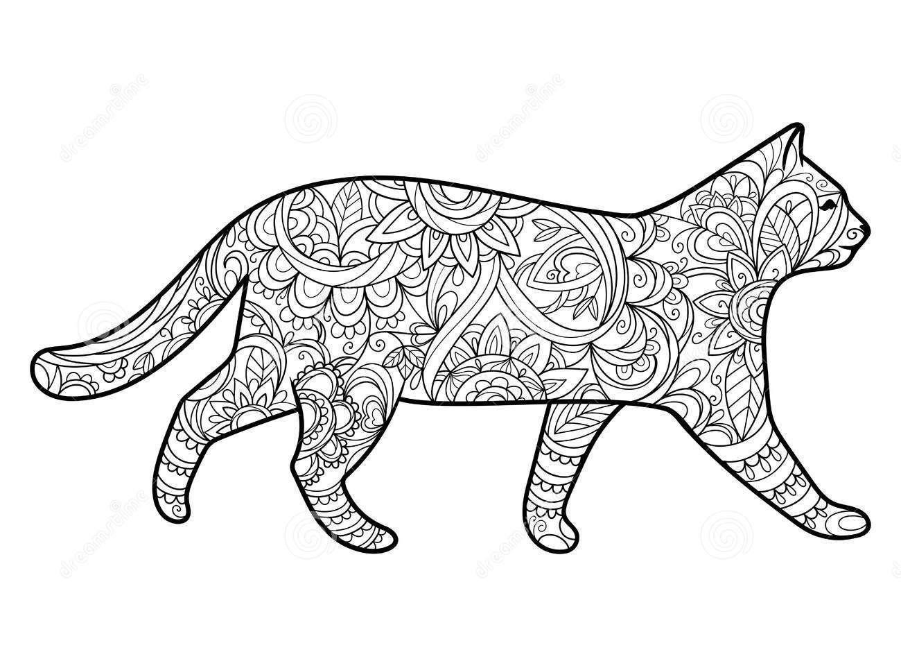 Mandala Mandala Boyama Mandala Calismasi Mandala Desenleri Mandalas Dibujos Mandala Art Mandala Art Cat Kedi Gato Mandala Art Mandala Kedi