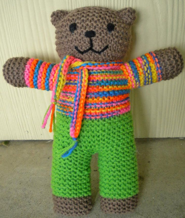 Mother Bear Project Pattern Changes - Look in my Craft Ideas board ...