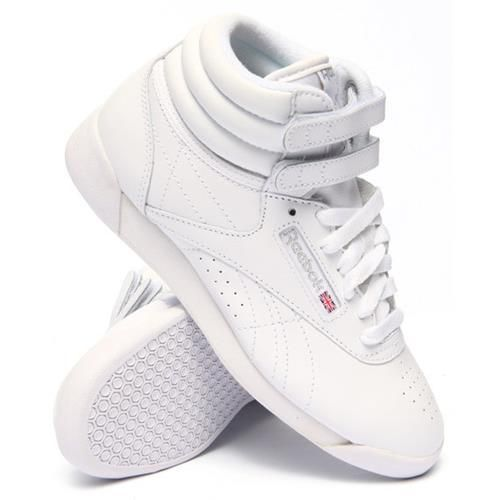 9d5fee75858 Reebok Freestyle Hi White