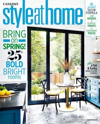 Style at Home Canada april 2017