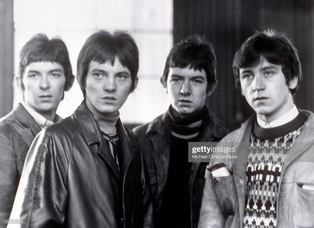 Ian McLagan, Steve Marriott, Ronnie Lane and Kenney Jones