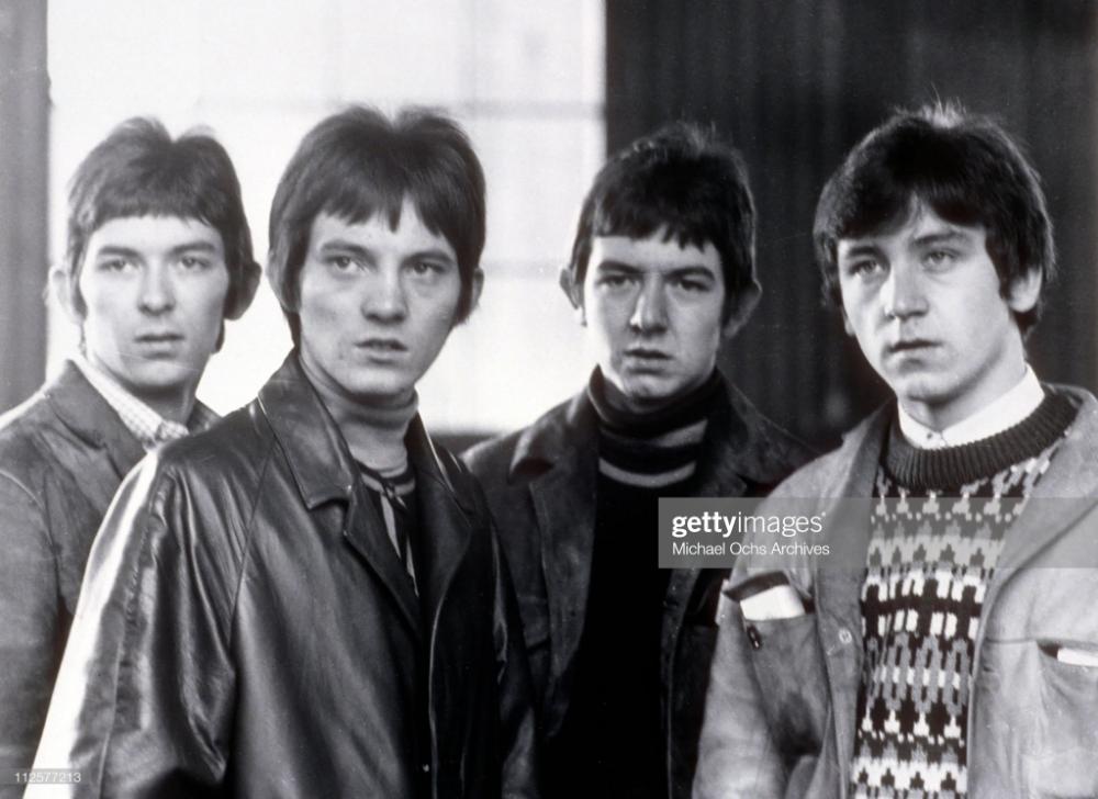 Ian McLagan, Steve Marriott, Ronnie Lane and Kenney Jones