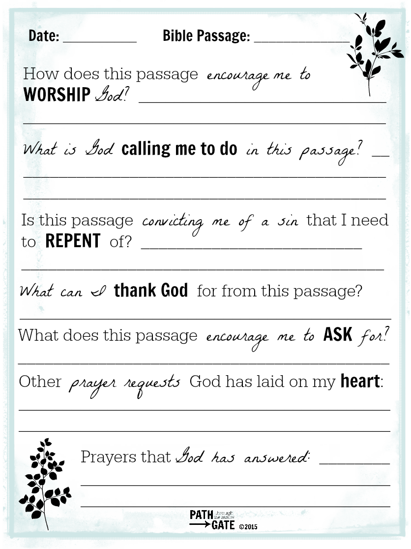 photograph about Printable Daily Devotions for Youth titled printable magazine web pages above Bible studying and prayers