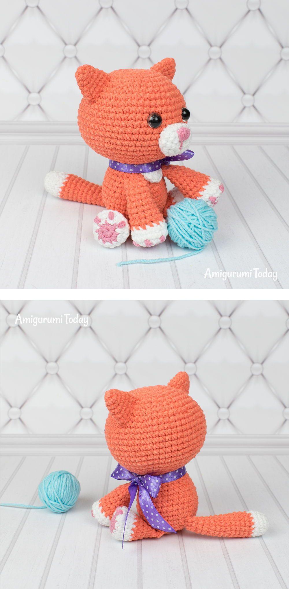 Ginger Cat Amigurumi Pattern Crochet Crochet Patterns Free Crochet