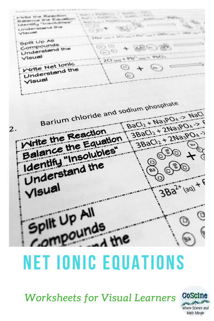 Net Ionic Equations: Understanding it Visually | Chem