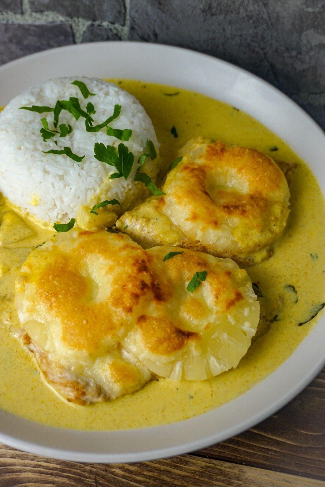 Hawaii-Chicken aus dem Ofen #einfachegerichte Hawaii-Chicken aus dem Ofen #hawaiianfoodrecipes