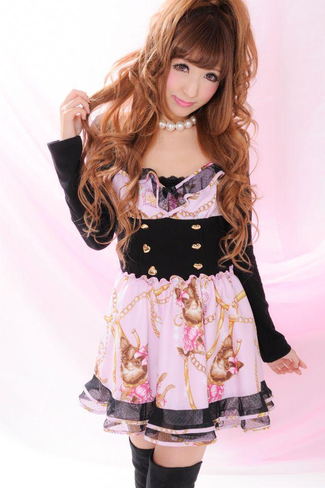ma*rs limited Chihuahua pattern dress pink
