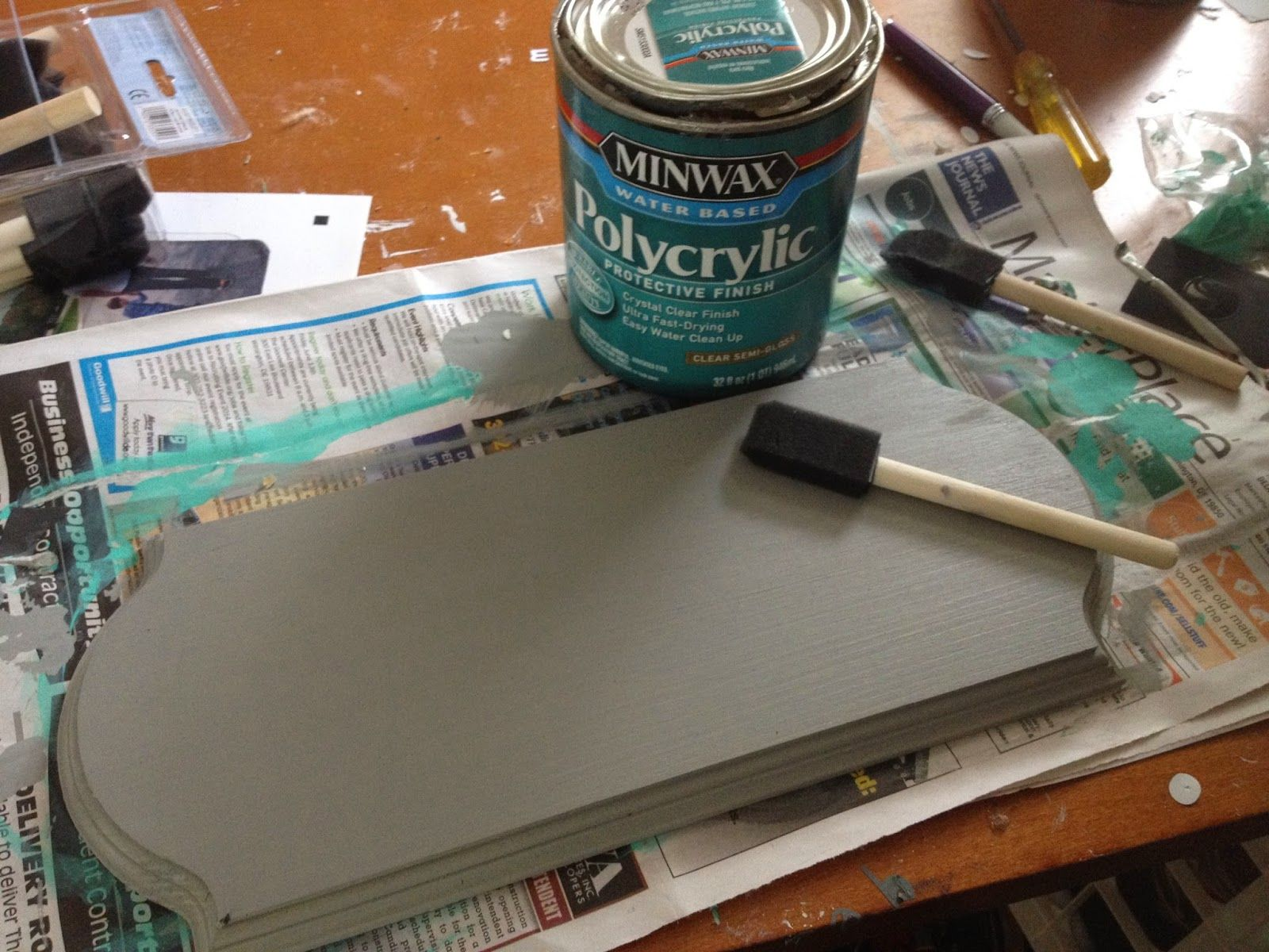 How To Put Vinyl On Painted Wood Signs So It Actually