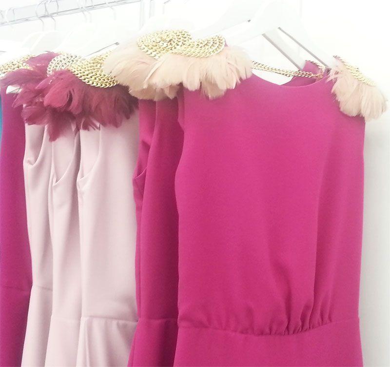 Vestido Drapeado Alida Frambuesa | Fashion