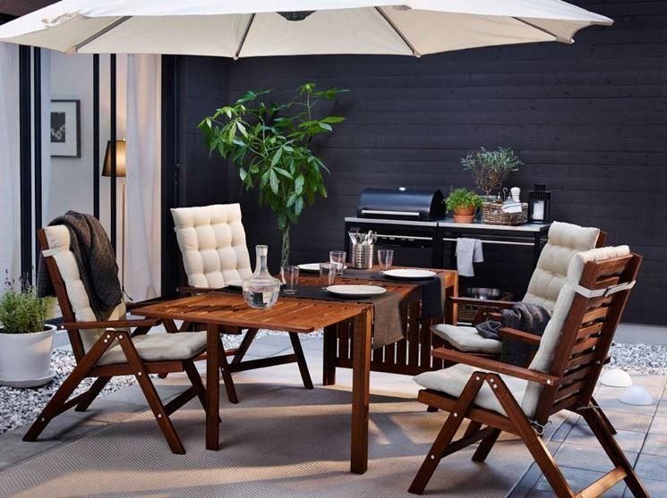 Tavoli da giardino Ikea Arredamento, Tavolo giardino