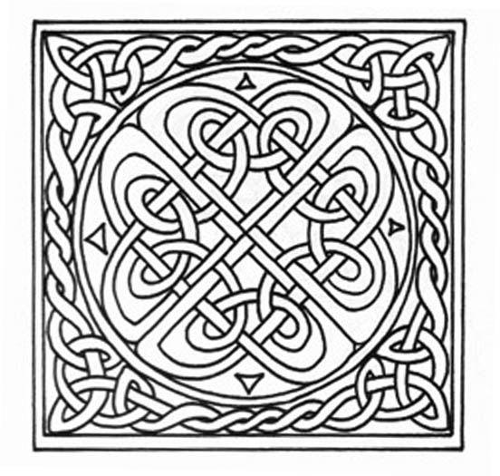 ∞ Nudo Celta ∞ ԑ̮̑♢̮̑ɜ~Mandala para Colorear~ԑ̮̑♢̮̑ɜ | ॐ ...