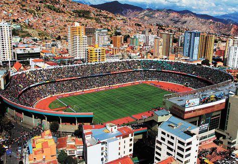 Estadio Hernando Siles La Paz Bolivia Estadio Futebol América Do Sul Futebol
