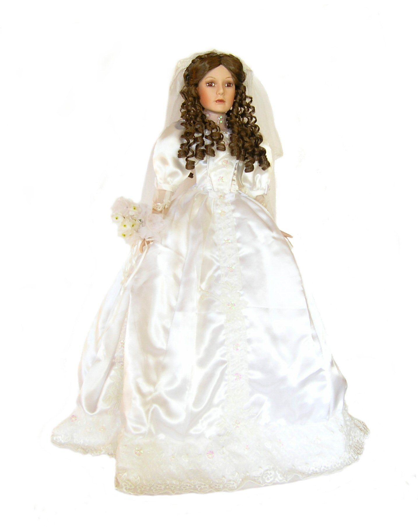 Bride Porcelain Doll-Beautiful Porcelain Bride Doll-unique Doll ...