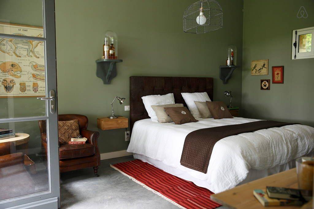 Un Matin Dans Les Bois Chambres D Hotes A Proximite Du Touquet Et De La Baie De Somme Deco Chambre Vert Decoration Chambre Zen Chambre Chic