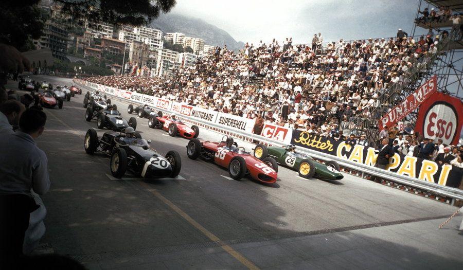 1961 Monaco Grand Prix Start Monaco Grand Prix Grand Prix Monaco