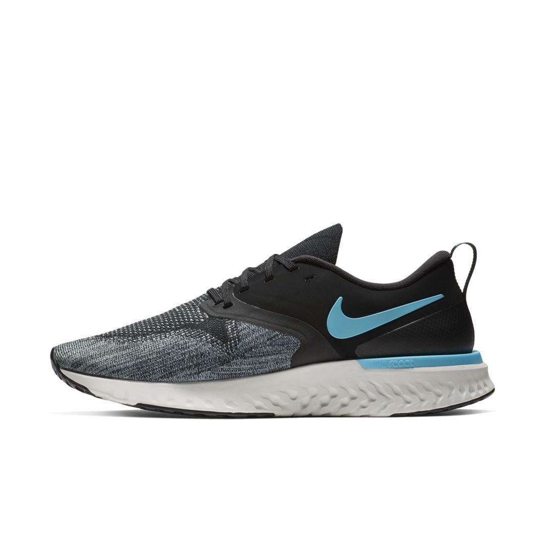 009d4238d4781 Nike Odyssey React Flyknit 2 Men's Running Shoe Size 12 (Black) in ...