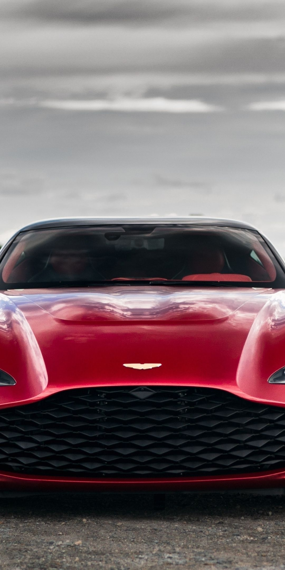 1080x2160 Red Car Aston Martin Dbs Gt Agato Front View Wallpaper Aston Martin Dbs Red Car Aston Martin