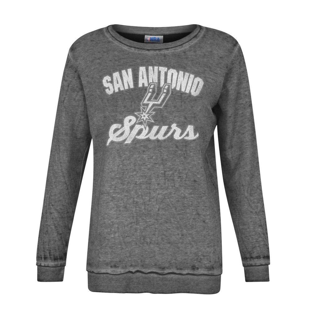 Nba San Antonio Spurs Women S Distressed Classic Sweatshirt M In 2021 Sweatshirts Nba Cleveland Nba Miami Heat [ 1000 x 1000 Pixel ]