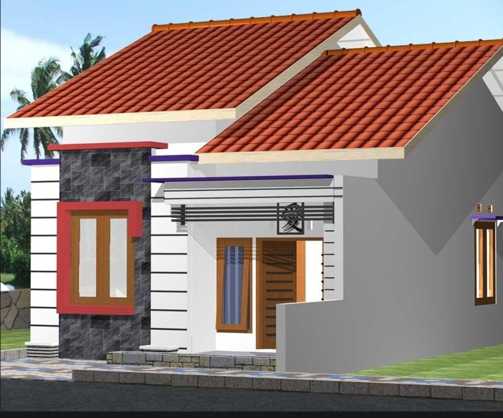 Desain Model Rumah Atap Dak Cor