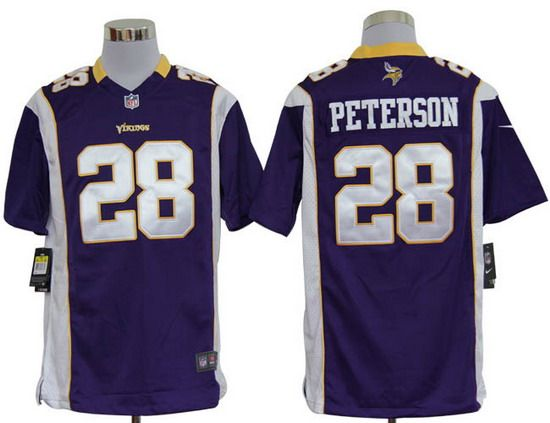 202bef91a45 Nike Vikings  28 Adrian Peterson Purple Team Color Mens NFL Game Jersey And nfl  jerseys best selling