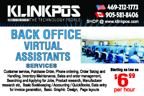 Klink pos provides mobile and online services like POS receipt - payroll receipt