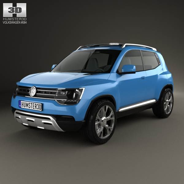 Volkswagen Taigun 2012 3d model from humster3d.com. Price: $75