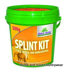 Global Herbs Splint Kit A kit containing splint-aid spray x 50ml and splint cream x 200gm The two products have been found to work better together