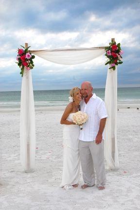 Sarasota Beach Wedding Something