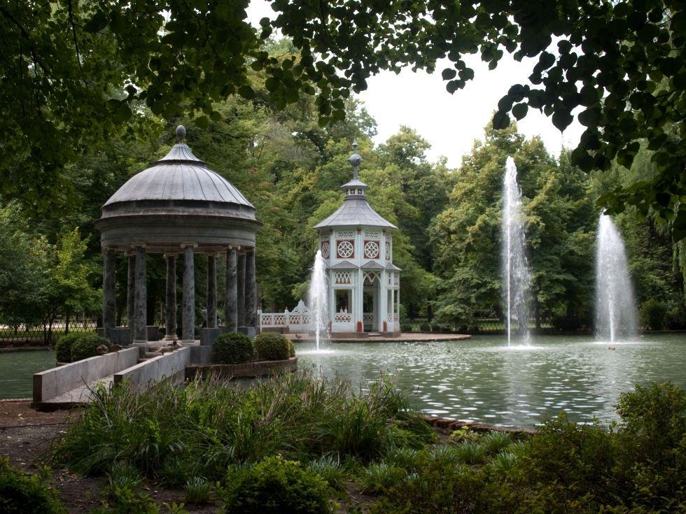 Fotos De Agua En Jardín Del Príncipe Aranjuez 1566281 Fotos Jardines Paisajes