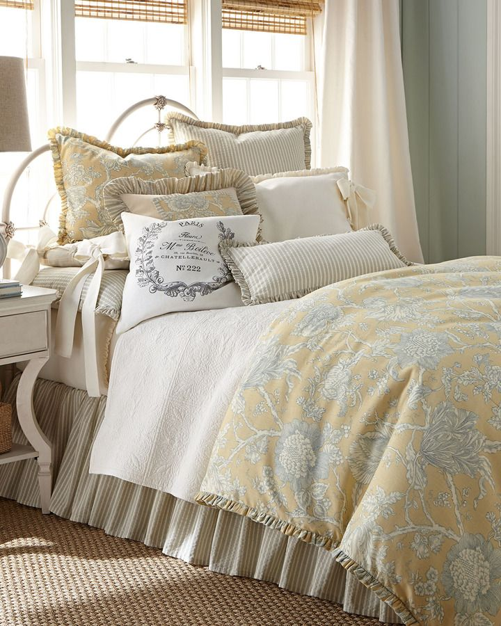 French Laundry Home Spring Garden Bed Linens Home And Bedding