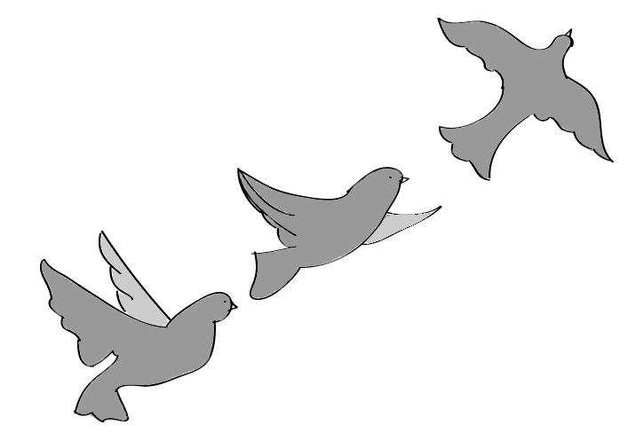 How To Draw Flying Birds Flying Bird Drawing Bird Drawings Silhouette Drawing