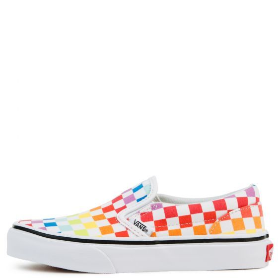 Rainbow vans, Vans classic slip on