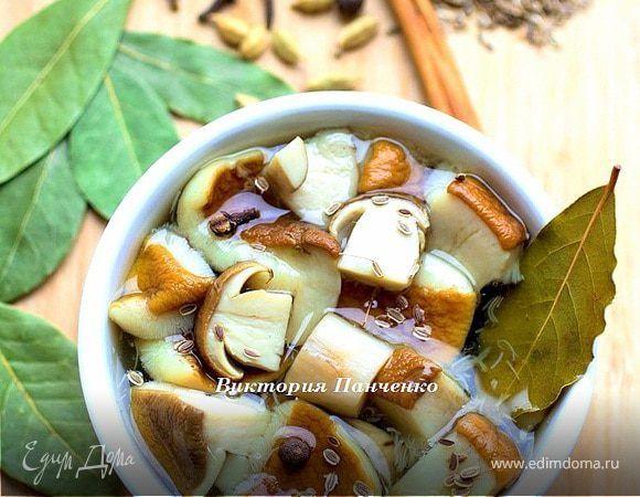 Маринованные белые грибы   Рецепт   Питание рецепты ...