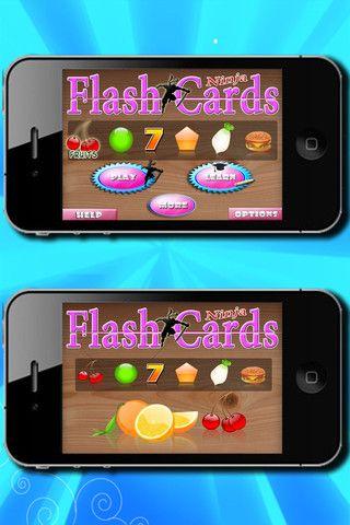 iApp: Ninja Cards (fun fine motor skills)