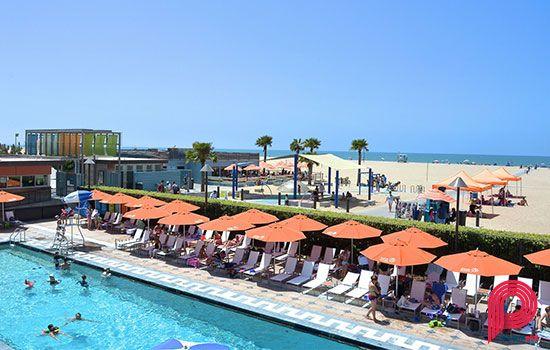 Annenberg Beach House Pool Santa Monica