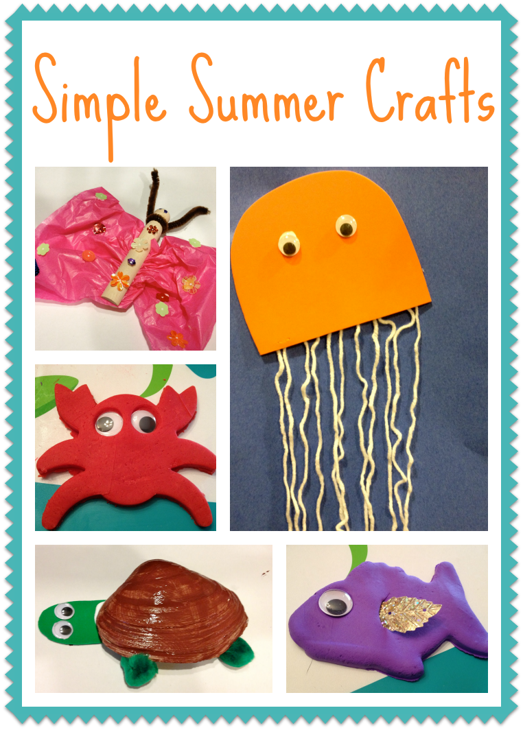 Summer Craft Ideas Kids Part - 21: 5 Simple Summer Crafts For Kids