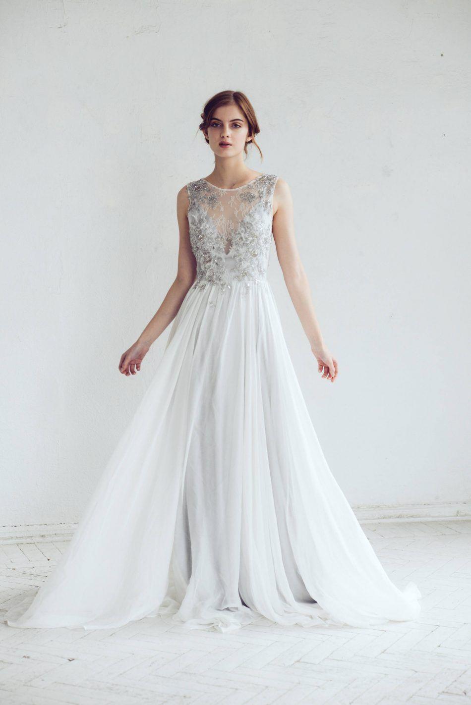 Silver Gray Wedding Dress | Brides, Grooms, Weddings & Honeymoons ...