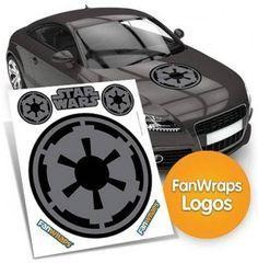 Star Wars Imperial Symbol Car Decal