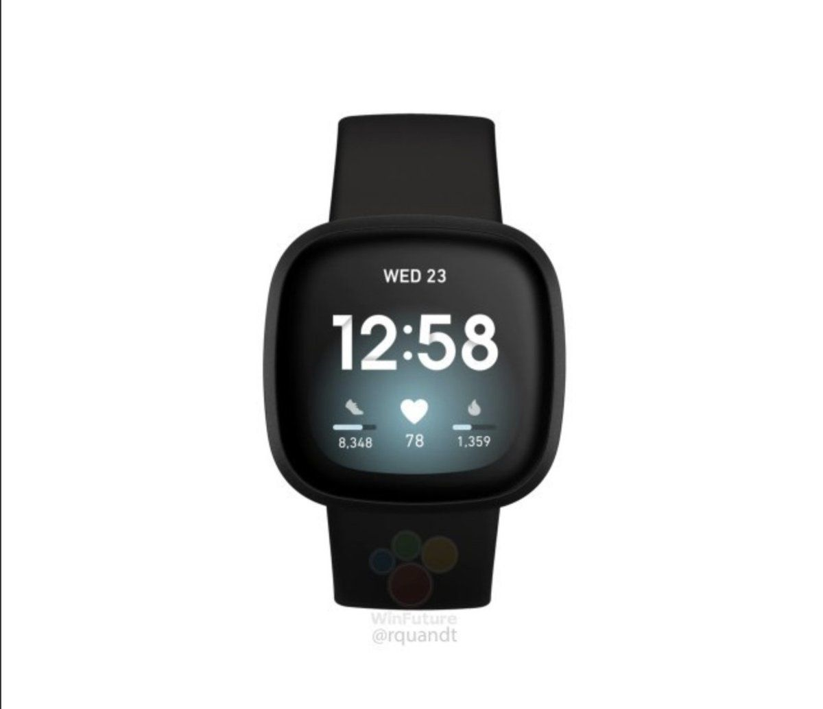 New Images Of Fitbit Versa 3 And Fitbit Sense Leak In 2020 Smart Watch Fitbit Buy Fitbit