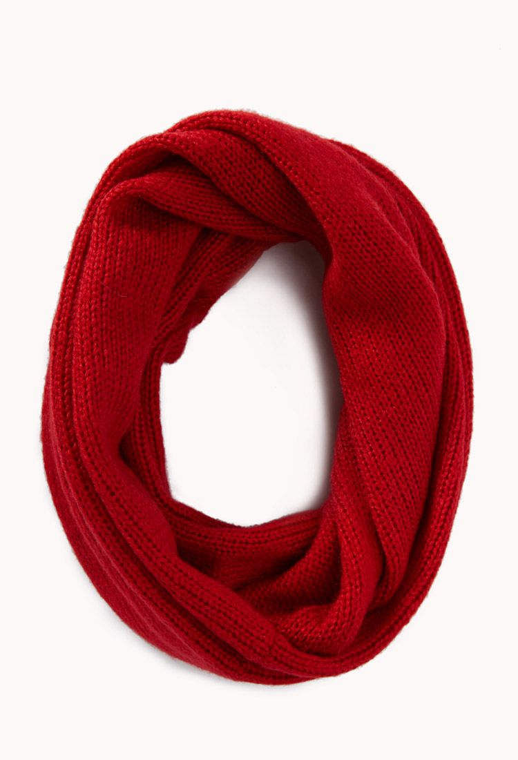 Classic Knit Infinity Scarf | FOREVER21 - 1000075748 $12 ...