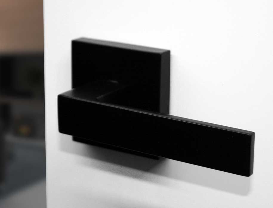 Matte Black Round SIF Door Handle | Suits Modern Residential Designs.  Poignées De PortePoignées ...