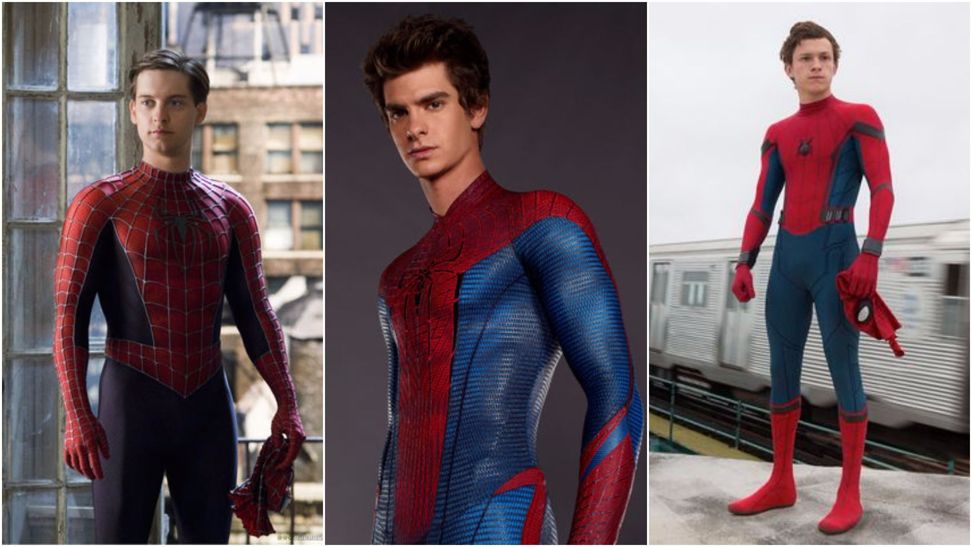 SpiderMan - Unmasked! Who did it better, #TobeyMaguire