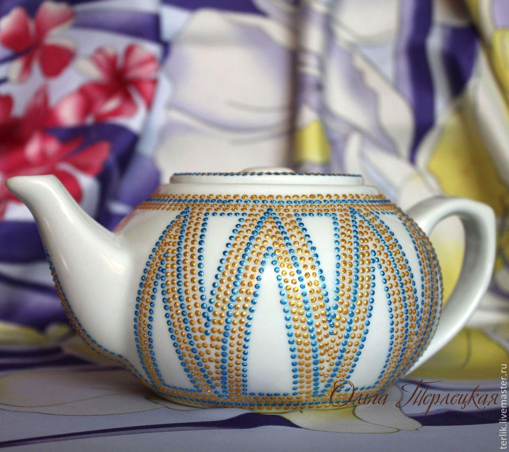 17ed59af4de1 Купить Маленький заварочный чайник. Фарфор. Серия Чайная посуда - чайник, чайник  заварочный Tea