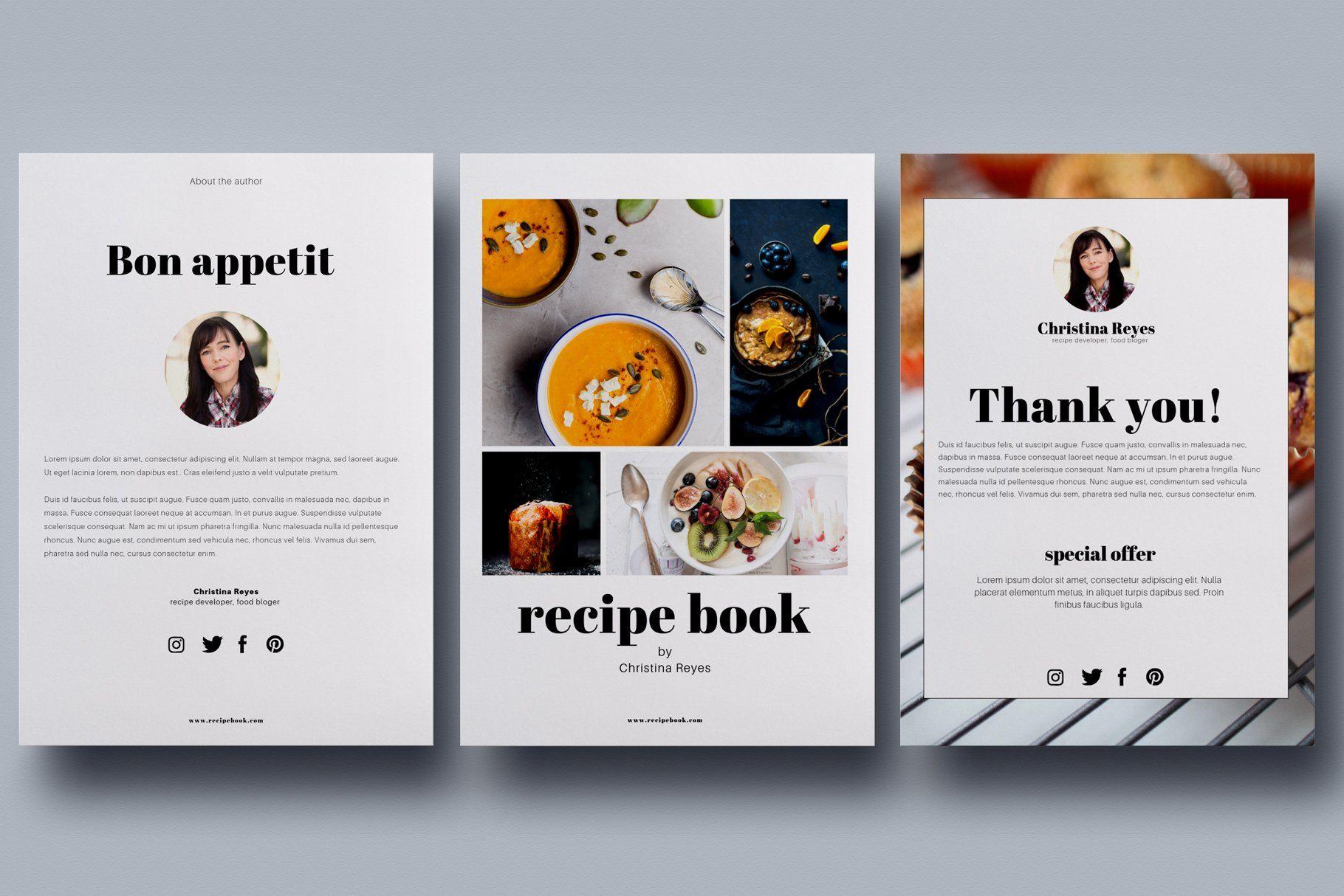 Canva recipe book cookbook cards in 2020 cookbook