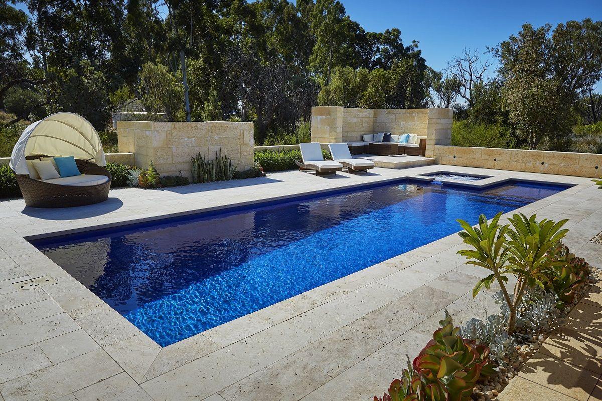 Spasa Wa Silver Winner For Fibreglass Pool And Spa Barrier Reef Pools Perth Barrier Reef Pools Backyard Pool Designs Pool