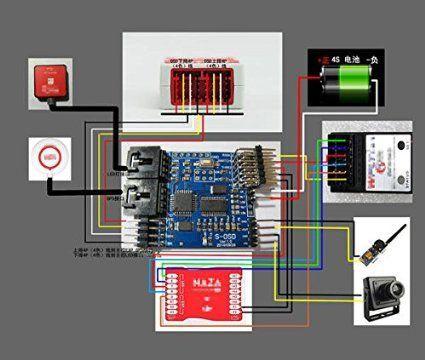 Drone Design Ideas : Amazon.co.jp | S-OSD iOSD Remzibi OSD モジュール for DJI NAZA Lite/V2 GPS v | Drone design. Drones concept. Computer basics