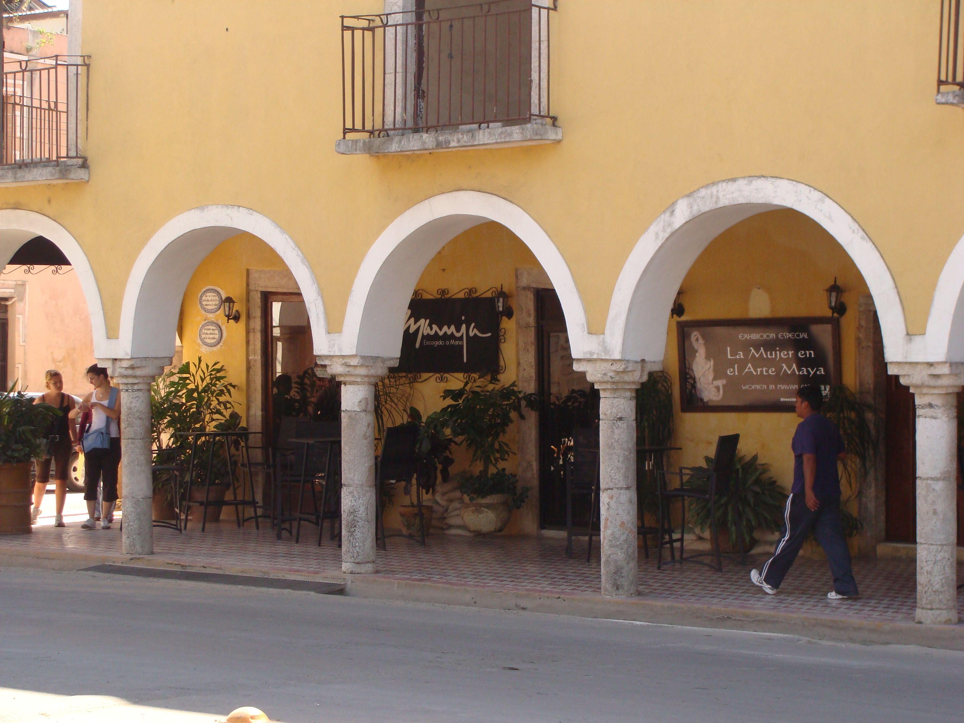 Ich liebe die Kolonialarchitektur @ Valladolid, Mexiko