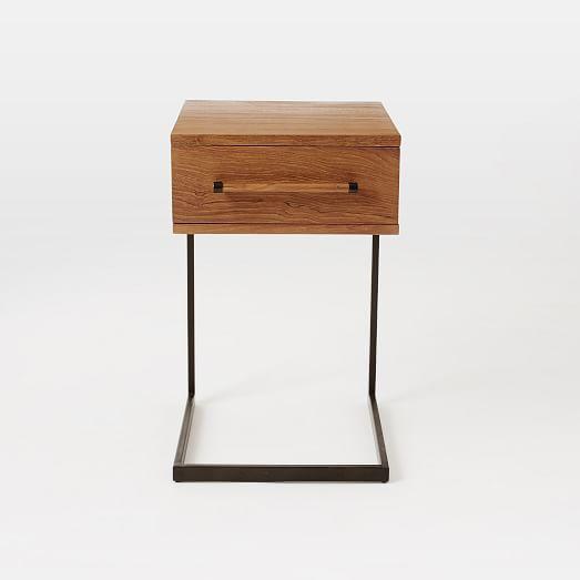 west elm Nash Metal + Wood Storage Bed